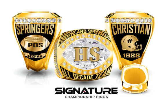 Springer All Decade Team Ring